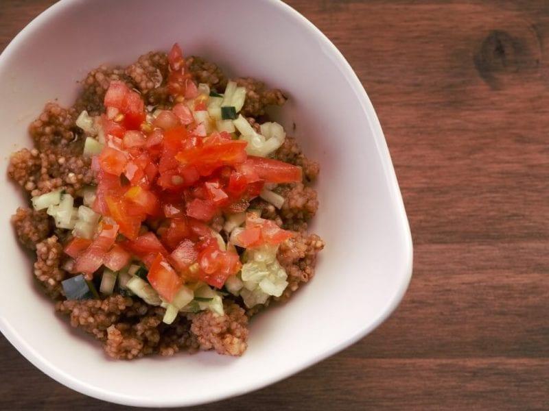 Ensalada con quinoa 3