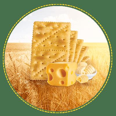 Galletas Saltin queso y mantequilla