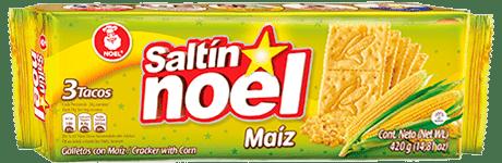 Nuevas galletas Saltin Noel maíz