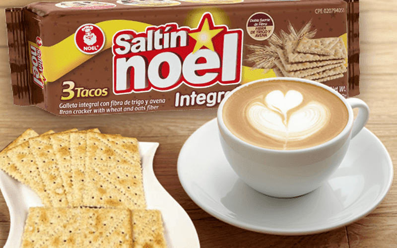 Galletas saltin noel y cafe una mezcla perfecta