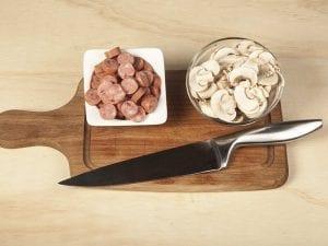 Molde saltin noel maiz con carne desmechada saltin noel paso 1