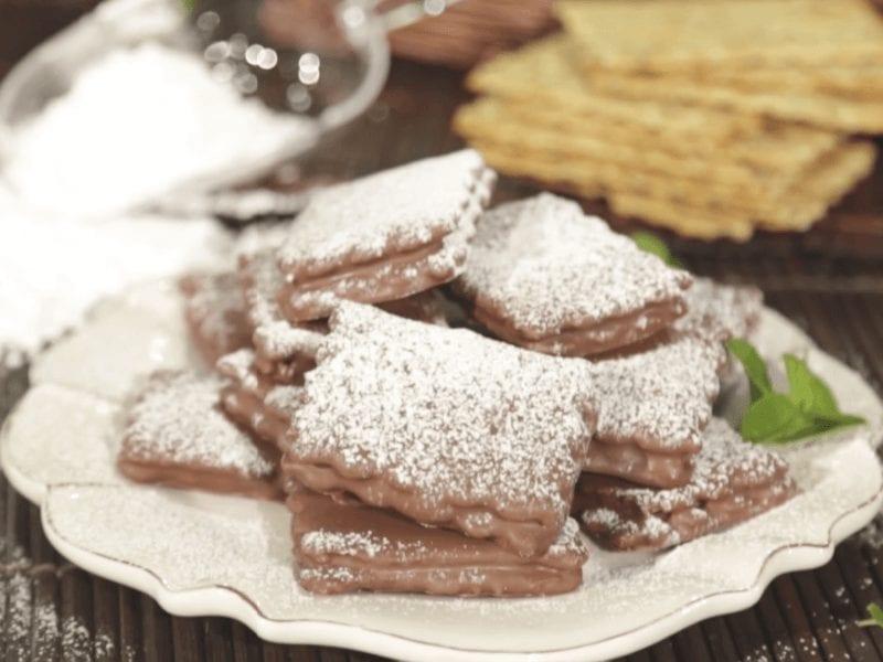 Receta alfajores con galletas saltin noel