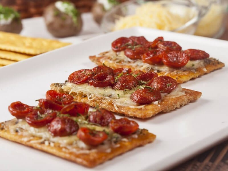Receta galletas saltin noel maiz con chorizo y doble queso saltin noel
