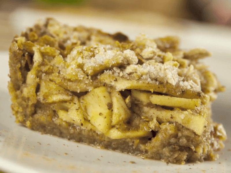 Receta pastel de manzana con galletas saltin noel integral