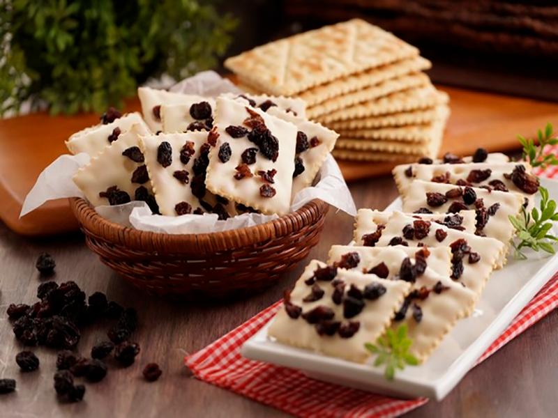 Receta saltin noel galletas con chocolate blanco