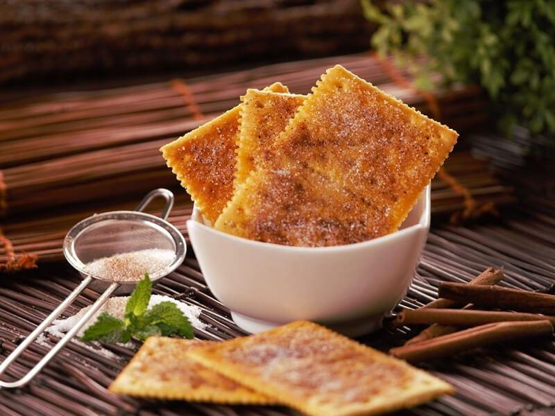 Receta saltin noel galletas saltin noel queso y mantequilla con azucar y canela