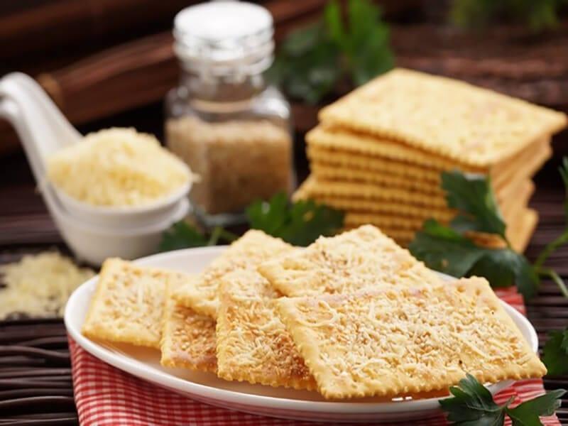 Receta saltin noel queso y mantequilla