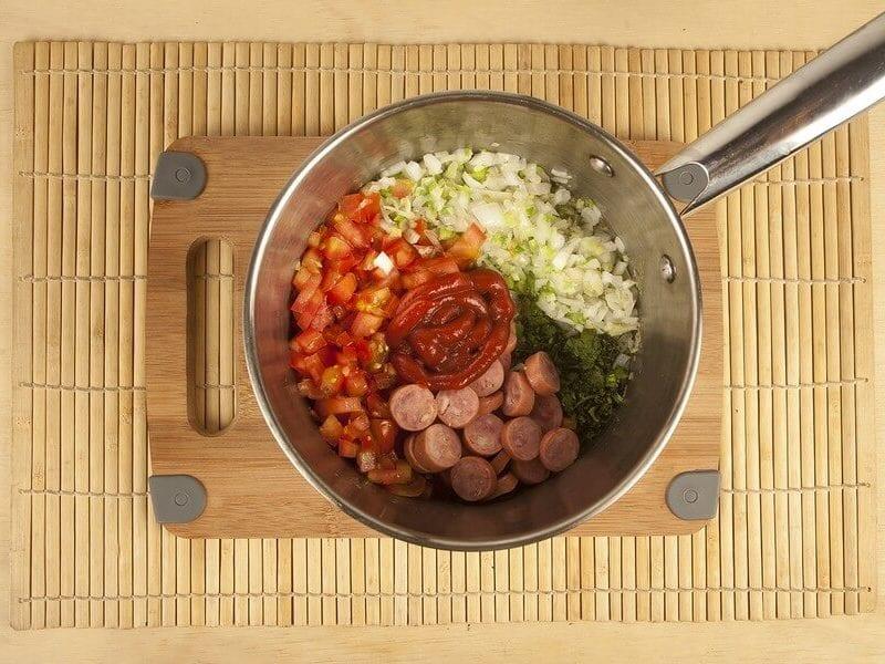 Salsa criollas salchicha 3