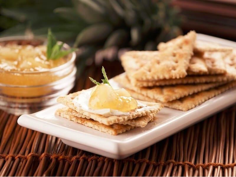 Saltin noel bocaito de queso crema