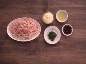 Saltin noel canape de palmitos paso 2