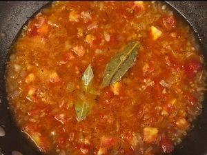 Saltin noel crema de tomate con galletas saltin noel tradicional paso 4