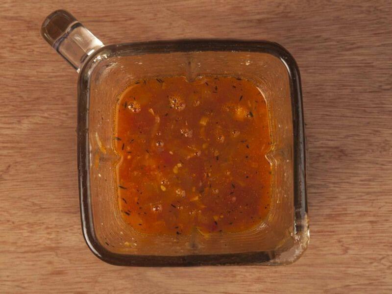 Saltin noel crema de tomate con galletas saltin noel tradicional paso 6