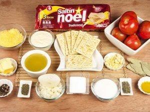 Saltin noel crema de tomate con galletas saltin noel tradicional paso 8