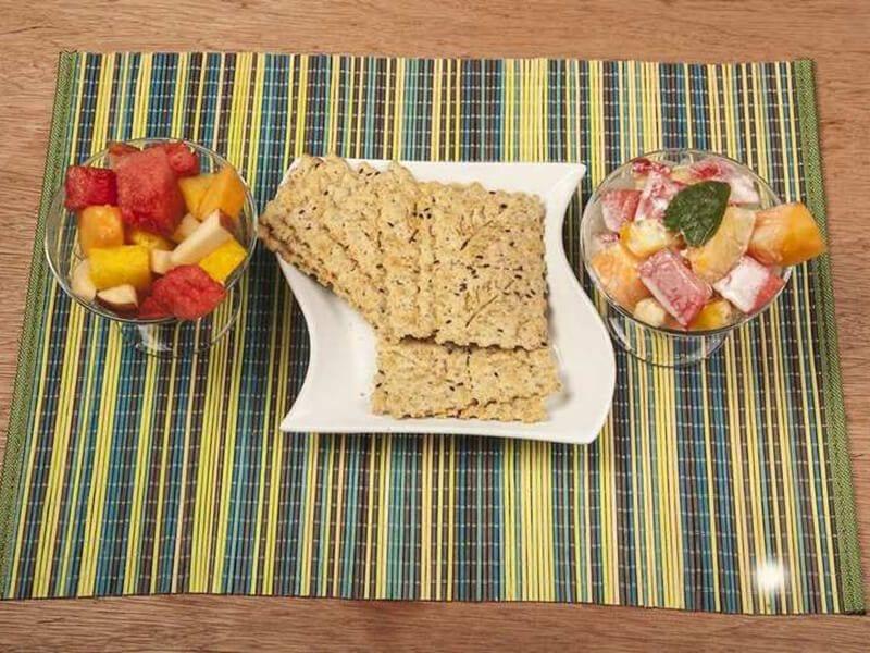 Saltin noel ensalada cremosa de frutas con galletas saltin noel y cereal paso 4