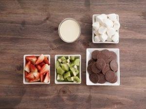 Salin noel fondue chocolate paso 2