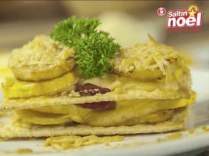 Saltin noel milhojas de papa y queso con galletas saltin noel tradicional