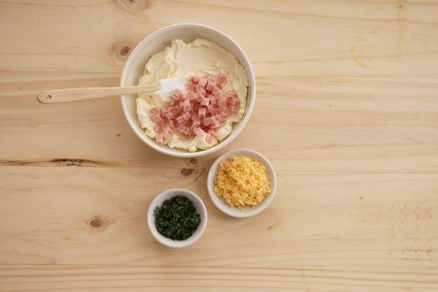 Saltin noel sanduche de maiz paso 3