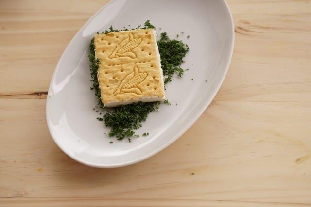 Saltin noel sanduche de maiz paso 7
