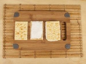 Saltin noel sandwich de galleta tradicional con merengue italiano paso 7