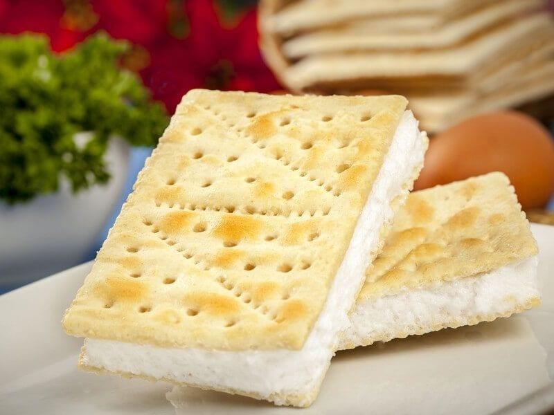 Receta saltin noel sandwich de galleta tradicional con merengue italiano
