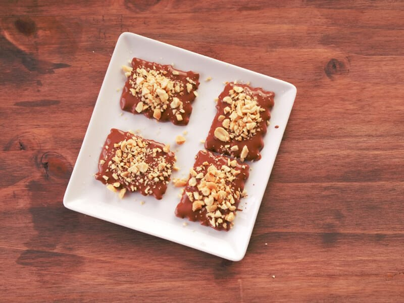 Saltin noel turron de chocolate paso 6