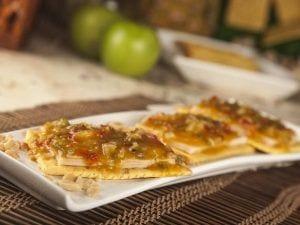 Sandwich saltin noel maiz con chutney de mango y pollo saltin noel paso 5