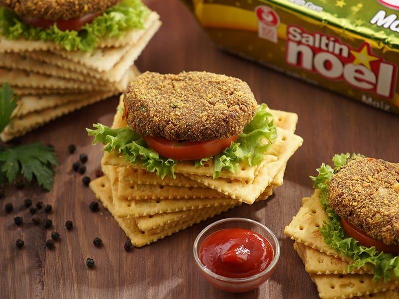 Receta saltin noel torticas de carne con saltin noel maiz